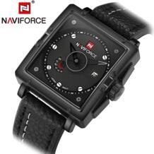 Naviforce модный бренд Повседневное Для мужчин S Наручные часы Бизнес кожа кварцевый Для мужчин часы Relojes HOMBRE Relogio masculino 2016 Naviforce календарная 32637532699