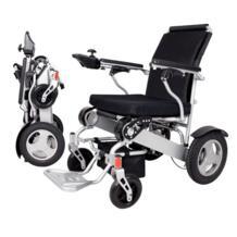 Алюминиевый сплав мощность двигатель складной легкий Большой загрузки ёмкость Электрический инвалидной коляске CE утверждение No name 32954706316