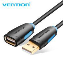 USB 2,0 Удлинительный кабель, Удлинительный Кабель USB 2,0 для ноутбуков и ПК|Кабели для MP3/MP4-плееров|Электроника - AliExpress Vention 32799040275