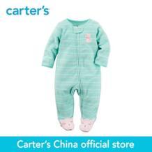 Carter's/1 шт. для маленьких детей детские махровые Zip-Up Sleep & Play 115G173, продается из официального магазина Carter's в Китае No name 32802071229