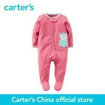 Carter's/1 шт. для маленьких детей Детские хлопковые Zip-Up Sleep & Play 115G131, продается из официального магазина Carter's в Китае No name 32776053422