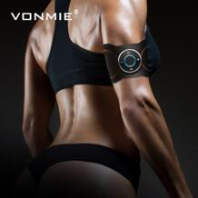 беспроводной стимулятор мышц EMS стимуляция рук стимулятор для похудения физиотерапия тренажер фитнес живот жир массажер VONMIE 32960667618