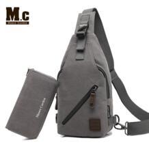 Ретро Винтаж рюкзак холст для мужчин рюкзак мужской студентов школьные ранцы человек одно плечо грудь сумки с треугольниками на ремешках Bagpack Bolsas Moore Carden 32553144499