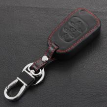 Кожаный брелок крышка оболочки для kia RIO K2 Ceed Cerato Optima K5 Sportage R Sorento Флип удаленный случае ключ 3 кнопки No name 32261572377