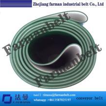 Зеленый ПВХ конвейера в рулон с плоским верхом Farman 32813640053