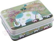 12 шт./лот жестяная коробка для хранения Sweet Girl Кнопка пятно дизайн коробки канистра конфеты шкатулка Дело Девушка подарок домохозяйства No name 2024802342