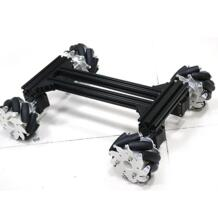 Большой умный Mecanum колесный автомобиль RC робот omni автомобильный комплект металлический каркас шасси с 42 шаговым двигателем для Arduino diy rc игрушечный комплект Doit.am 32874226625