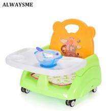 Всегда я складной Портативный Регулируемая Детские Дети сидения стульчик для кормления стульчики ужин стулья стульчики для кормления для 6 м-36 м детские No name 32843644129