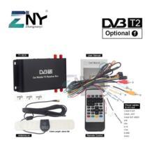 Автомобиль DVB-T2 цифровой ТВ коробка 4 Seg поддержка 180-200 км/ч скорость вождения цифровой автомобильный телевизор тюнер HDMI HD 1080 P ТВ приемник No name 32698413382