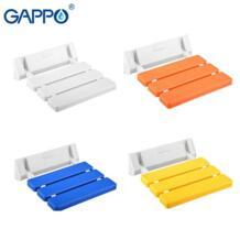 настенный Сиденье для душа Ванная комната белый душ Складной Сиденье для ванной стул пожилых душ спа-салон стул Gappo 32871492485