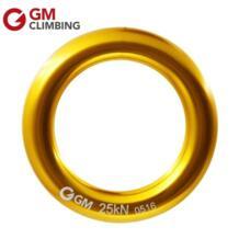 GM восхождение кольцо 25kN большой Rappel кольцо Алюминий залог-аутов скалолазание убывание кольцо безопасности спасения дерево скалолазание оборудования No name 1508166090