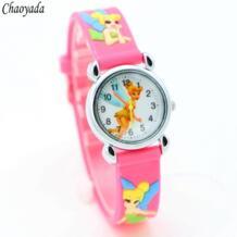 Принцесса Тинкербелл мультфильм 3D дети часы студенты дети наручные часы Бесплатная доставка 1 шт. Zien 32770744912