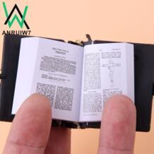 Милый мини/Испанский/английский Святой Библия брелок религиозный христианский Иисус крест Подарочный Брелок для ключей Сувенирный брелок для ключей ANRUIW7 32327573018