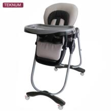Ребенка стул многофункциональный складной портативный детьми Дети ребенка регулировать сиденья Младенцы ест стул кормления стол с колесами No name 32816604988