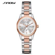 Женские наручные часы лучший бренд класса люкс кварцевые женские часы-браслет женские часы 2019 Relogio Feminino #8126 Sinobi 32764282197