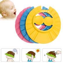 Регулируемый Душ козырек для купания щит мытье волос колпачок шампунь сопротивление защиты ушной глаз шляпа для маленьких детей младенцев Sunny ju 32967914228