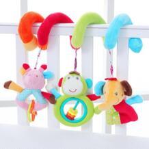 Коляска погремушки плюшевый слон кукла переноски Интимные аксессуары манеж детские кроватки кровать висит Игрушечные лошадки для новорожденных образование G0010 No name 32857050258