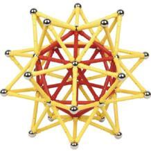 Интересные магнитные дизайнерские магнитные палочки шарики бар бусины Развивающие DIY Строительные наборы игрушечные наборы для детей интеллект No name 32881112347