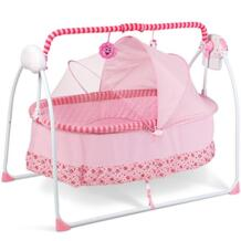 Berceau реальные 2018 новая модель прими авто-качели детские кроватки электричество большое пространство с матрасом Bluetooth и новорожденных спальная кровать No name 32495411569