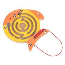 2018 новые деревянные магнитные лабиринт развивающие интеллектуальной дети игрушка-головоломка ручка головоломки деревянный лабиринт подарок для ребенка обучения No name 32857345281