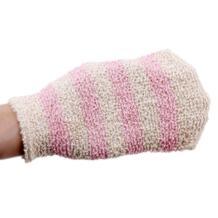 1 шт. душ перчатки Отшелушивающий мытья кожи гидромассажная Ванна перчатки пена для ванн сопротивление скольжению Массаж тела Ванная комната для очистки EH-LIFE 32864868861