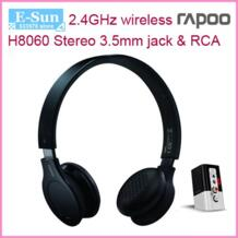 Платные Rapoo H8060 2,4 G беспроводная гарнитура наушники с 3,5 мм и штекер RCA разъем No name 1261393365
