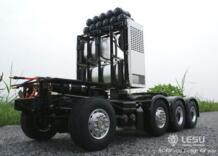 Тяжелые шасси Лесу 1/14 Scania R620 Радиоуправляемый трактор грузовик модель автомобиля SAVOX Servo TH02008 LESU 32946314193