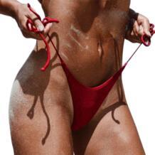 Черная пятница предложения сексуальный женский купальник бикини Бразильяно бикини 2017 Новый летний низ боковой галстук стринги купальный Купальник ITFABS 32812475668