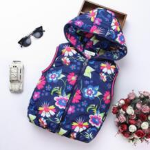2018 на весну для девочек Вязаные Жилеты для женщин куртка детская одежда характер модная детская одежда с капюшоном талии Пальто для будущих мам Повседневное жилет для маленьких девочек Пальто для будущих мам No name 32733207412