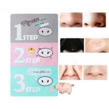 7 шт., маска с поросячьим носом для удаления угрей, удаляющая косметический Холика, маска с поросячьим носом, 3 шага, набор, черная головка, массаж лица D0164 Sumifun 32831340556