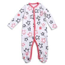 Детские комбинезоны с длинными рукавами Infantil Roupas хлопок облегающий костюм с мультяшным принтом детская одежда для новорожденных девочек Ногами Пижамы 0-3 месяцев No name 32825317359
