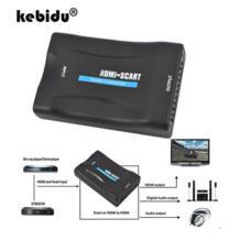 Kebidu 1080 P Переходник HDMI-scart Аудио Видео высококлассные преобразователь аудиовизуальных систем адаптер преобразователь сигнала приемник HD ТВ DVD/ЕС Мощность разъем высокое качество No name 32708725908