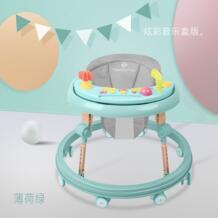 Детская прогулочная машина Pu Подушка babywalker 7-18 месяцев дети анти-Роллер автомобиль многофункциональный толчок может взять ребенка wakler No name 32823667395