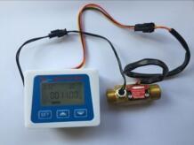 Латунный Датчик потока измерения температуры YF-B7 датчик холла переключатель счетчика + ЖК-дисплей цифровой расходомер LOUCHEN ZM 32847334770
