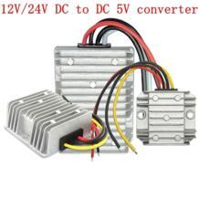 12 В 24 до 5 10A 15A 20A 30A питание постоянного тока конвертер шаг подпушка напряжение Регулятор светодиодный Питание с CE RoHS cazitog 32603013976