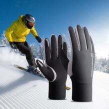 Открытый Сенсорный экран лыжные перчатки ветрозащитный дышащий сноуборд перчатки работает спортивный Для женщин Для мужчин ребенок кроссовки Лыжный Спорт Перчатки keptfeet 32905138568