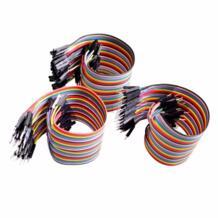 Dupont линии 120 шт. 20 см мужчинами + мужчин и женщин и Женский перемычку Dupont кабель для Arduino SZDoit 32814330560