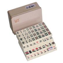 Бесплатная доставка 20*14 мм Мини Китайский маджонг плитки 144 шт./компл. жестяная коробка упаковка Портативный Путешествия Mah-Jong F276 No name 32648561656
