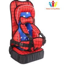 Портативная детская подушка для сиденья автомобиля, увеличивающая рост, детское безопасное сиденье, впитывающий спонж, детские автокресла, детское сиденье безопасности для мальчиков и девочек No name 32966280105