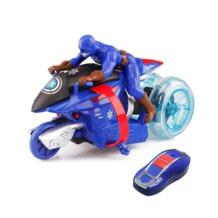 Дистанционное управление для мотоцикла мотоцикл RC Электрические игрушки трюк флип Дрифт высокая скорость 360D вращение Игрушки для мальчиков TOPEKIA 32922932139