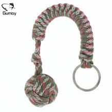 Gumay 1 шт. тяжелых Сталь шарик внутри обезьяна кулак безопасности для самообороны палатка шнурки кулак выживания Брелок инструмент Liplasting 32744311888