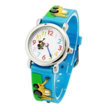 Высококачественный 3d Детский Маленький прицеп автомобиль силиконовые часы кварцевые наручные часы Zien 32764339770