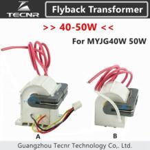 40 Вт 50 Вт высоковольтный flyback трансформатор для 50 Вт CO2 лазерный источник питания MYJG40W 50 Вт TECNR 32725581921