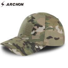 S. ARCHON регулируемые Мультикам военные камуфляжные шапки для мужчин страйкбол Snapback тактические кепки-бейсболки Combat paintball армейские кепки s.archon 32847012169