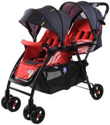 Близнецы Детские коляски двойной сиденья до и после детская коляска может лежать на автомобиль летом и зимой брат babycar No name 32858121876