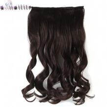 С-noilite 61 см 24 дюйм(ов) Косплэй вьющиеся длинные Для женщин Одна деталь клип в полной головки волос 5 Зажимы на синтетические парики No name 32810723081