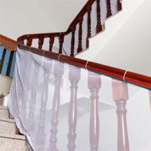 Шикарный лестница чистая безопасности Малый гриддинга защиты Установка балкон ребенка Secure ворота MAY29 No name 32879377451