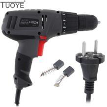 TUOYE AC 100-240 В 300 Вт серый Многофункциональный Электрический дрель инструмент с вращения переключатель регулировки и угольные щетки для винтов torro 32867273167