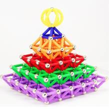 Магнитные стержни, металлические шарики, магнитные блоки, модель и Строительный набор, Магнитный конструктор, развивающие игрушки для детей, подарок-in Магнитный from Игрушки и хобби on AliExpress Skxnier 32986937330