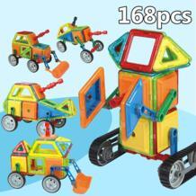 Магнитные блоки игрушки для детей магнитные Строительные блоки Набор дизайнерских обучающих кирпичей среднего размера Магнитная игрушка для Enfant WAN MU XING 32881701698